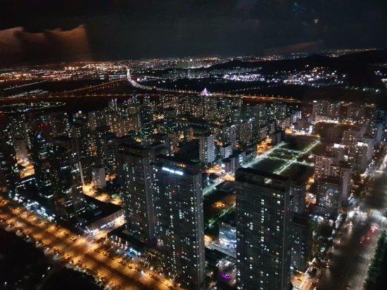 Oakwood Premier Incheon: 파노라믹바에서 보이는 전망