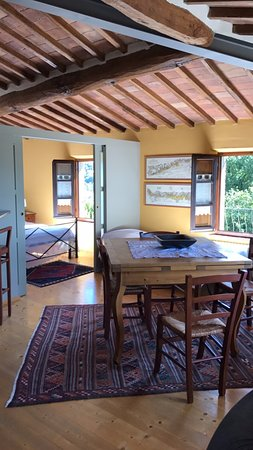 Agriturismo Marciano: The Suite. Spacious for a family of 4-5