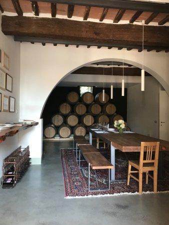 Agriturismo Marciano: Tasting Room