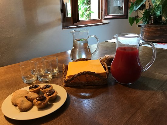 "Agriturismo Marciano: ""Welcome"" snacks at the Agriturismo kitchen"