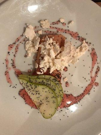 Waimea Restaurant: Rhubarb Parfait.
