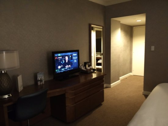 The Westin Dallas Park Central: A view of my room