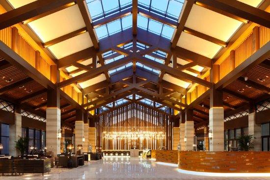 Jiaxing, Kina: Lobby Wide View