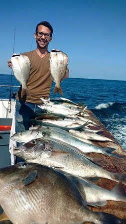 Queen Mary Party Fishing Boat & Charters: Great Day for this angler