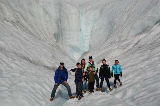 Kennicott Wilderness Guides: Waterfalls in Root Glacier