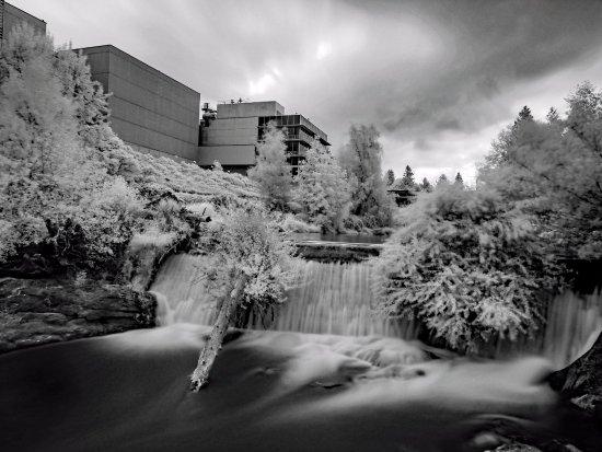 Tumwater, WA: Upper falls - infrared
