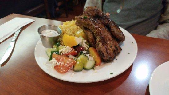 Kisamos Greek Taverna: Lamb Chops @ 21.95