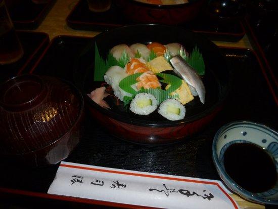 Setouchi, Japan: にぎり、800円