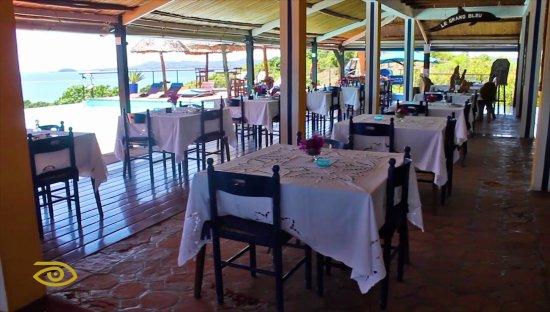 Le Grand Bleu : Restaurant au Grand Bleu