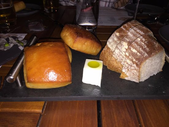 Menlo Park, CA: yummy bread with soft butter