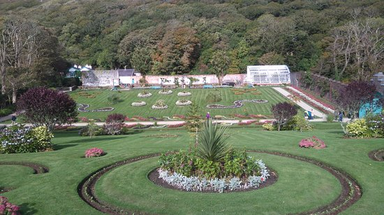 Furbo, İrlanda: Part of the 16 acre walled garden at Kylemore Abbey