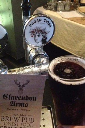 Evandale, Australia: Tasmanian Cider on Tap