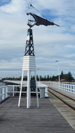 Busselton, Australia: the different stages of the jetty