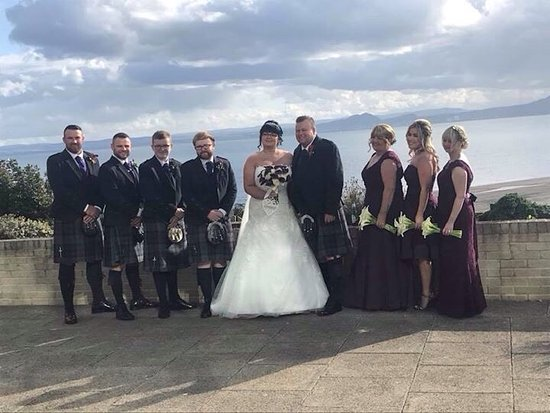Kinghorn, UK: Our perfect wedding at the perfect place xx