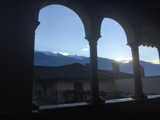 Ponte in Valtellina, Itália: panorama