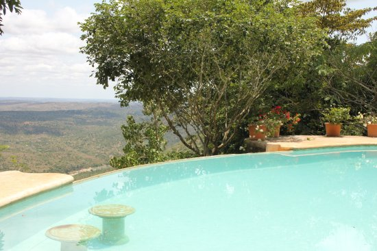 Kwale, Kenya : One of the two pools