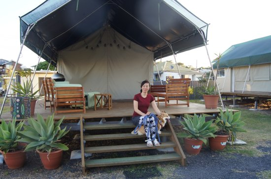 Greenwell Point, Australien: African Safari tent