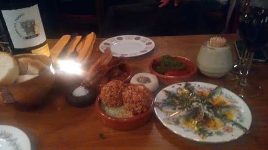 The High Pavement Evening Cafe: Tapas starter