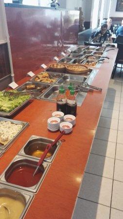 Etoile du Bonheur: buffet propre