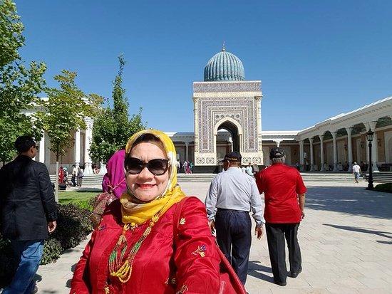 Imam Bokhari Mausoleum: Cantiknya Mausoleum Imam AL Bukhari, Samarkand