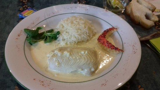 Auberge du Chaland: Poisson au beurre blanc