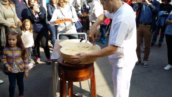 Reggio Emilia, Italië: Inizio degustazione