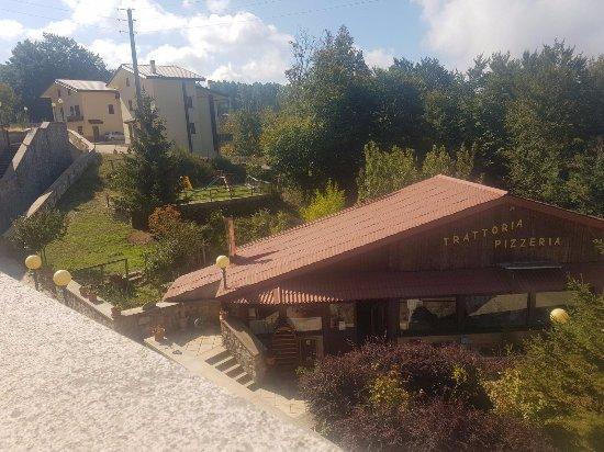 Gambarie, Italy: Sala dall'alto