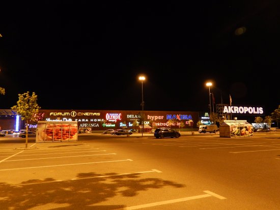 Akropolis: Great place for shopping, eating and leisure. Nice and well kept. Plenty of shops. Well worth it