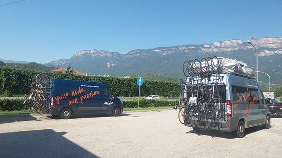 Pyrenees-Orientales, France: 2 van support
