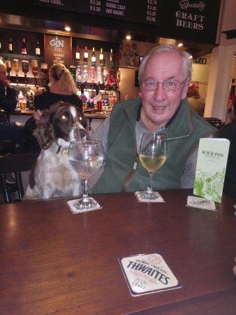Rock Inn: I mean 'Dog Friendly' (but Rhubarb Gin!)