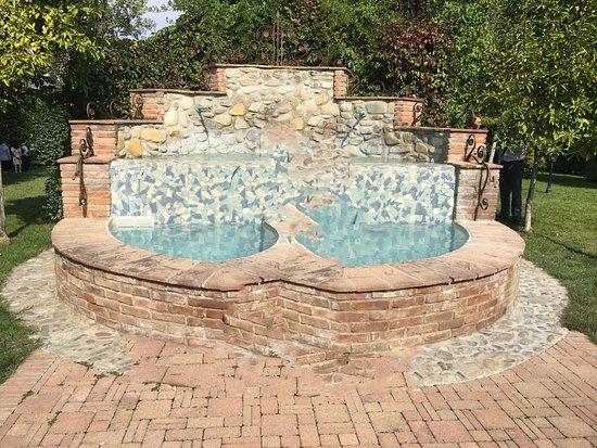 Sayonara Ristorante: Fontana in giardino