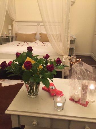 Hotel Villa Marstall: Überraschung meines Freundes zu unserem Jahrestag