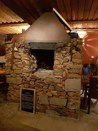 Figari, France: la cheminée