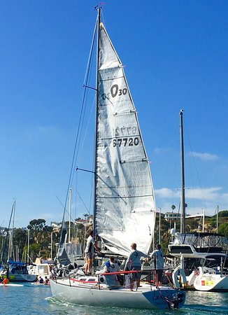 DANA POINT HARBOR, CA!  I ❤️all the Beautiful ⛵️'s in the Harbor.... GRAY🍸GOOSE!