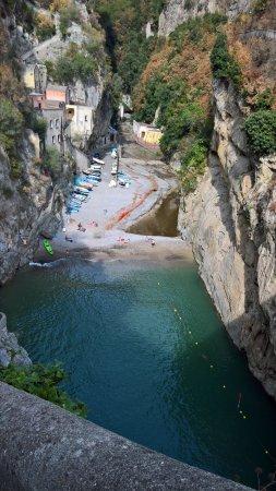 Fiordo di Furore, Italy: dalla statale