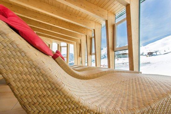 Hotel Edelweiss: Ruheraum mit Aussicht