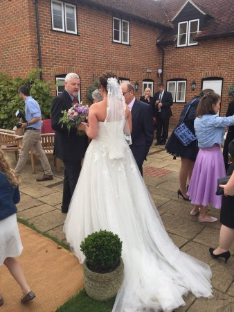 ‪‪Kidmore End‬, UK: Amazing wedding reception at The New Inn.‬