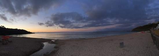 Carbis Bay, UK: panoramic sunset