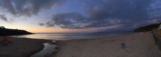 Carbis Bay, UK: panoramic sunset
