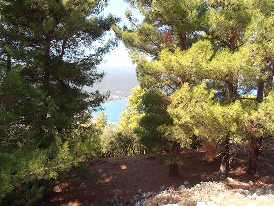 Uitzicht vanaf Sami Acropolis