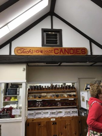 Tuck's candy store