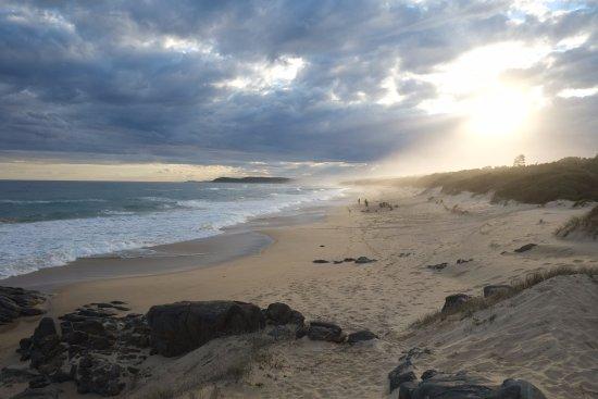 Cape Conran, ออสเตรเลีย: View over the beach
