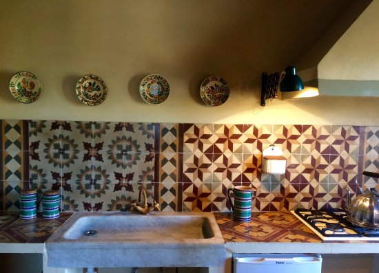 Agriturismo La Palazzina e Orchidea Bed&Breakfast: cucina