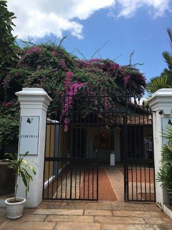 Club Villa: 入口