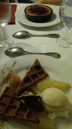 dessert a Rauzan