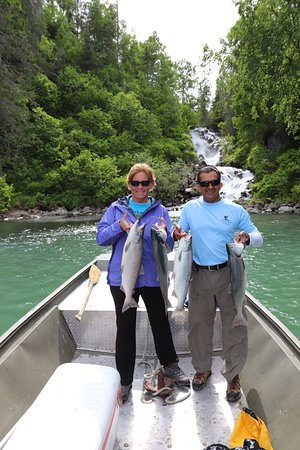 Sterling, AK: Salmon fishing