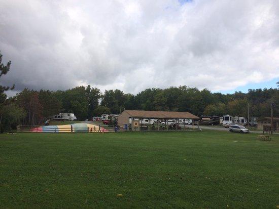 Farmington, NY: bounce area for kids