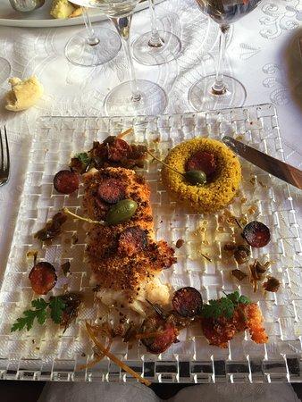 La Buissonniere: Excellent cabillaud chorizo