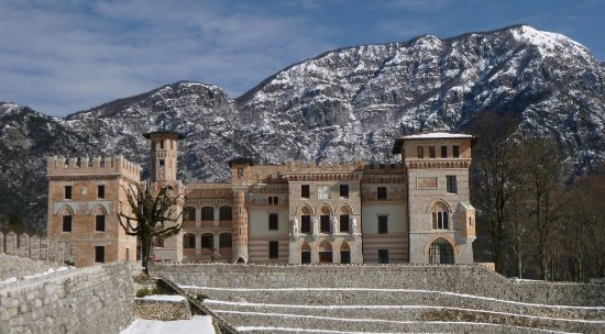 Anduins, Italia: Castello Ceconi a Pielungo