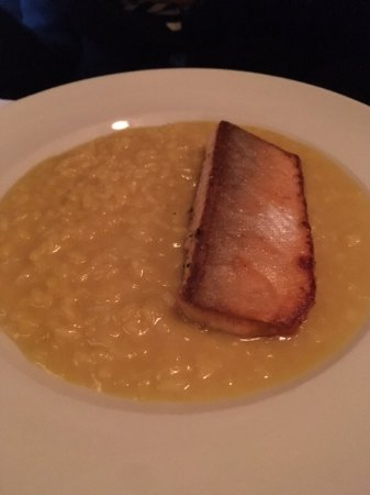 Le Bremner : Artic char with risotto